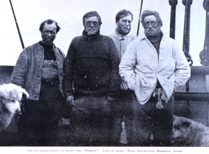 Parte equipe Shackleton